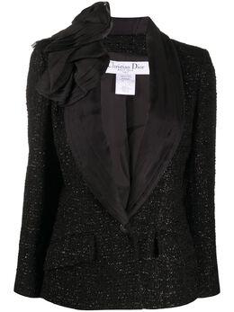 Christian Dior пиджак букле 2000-х годов DIO557