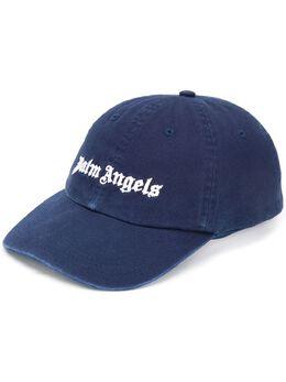 Palm Angels кепка с вышитым логотипом PMLB003E20FAB0064601