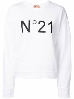 No. 21 logo print sweatshirt 20EN2M0E0316313