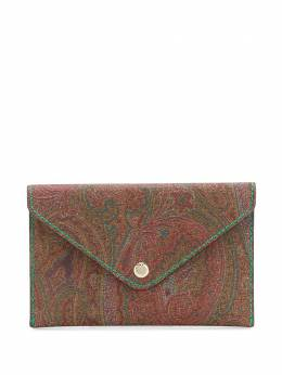Etro paisley pattern clutch bag 1I4468707