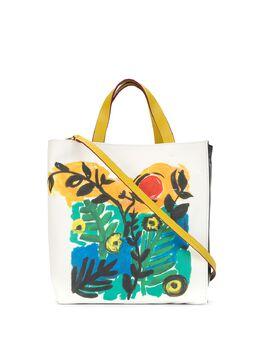 Marni сумка-тоут с цветочным принтом SHMP0018Q0P3426