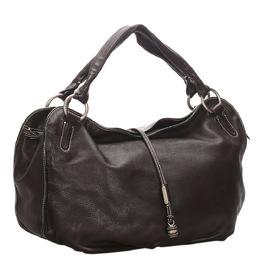 Celine Brown Leather Bittersweet Hobo Bag 282012