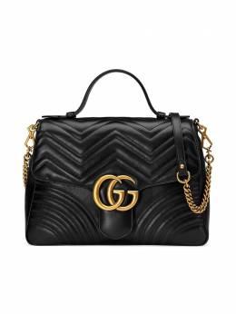 Gucci сумка-тоут 'GG Marmont' среднего размера 498109DTDIT