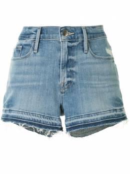 Frame джинсовые шорты с необработанными краями LCRHT0467