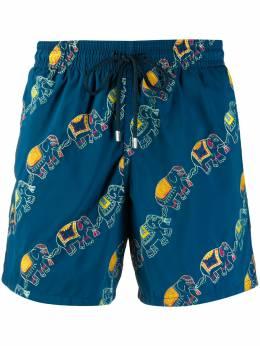 Vilebrequin плавки-шорты с принтом MISU0C18
