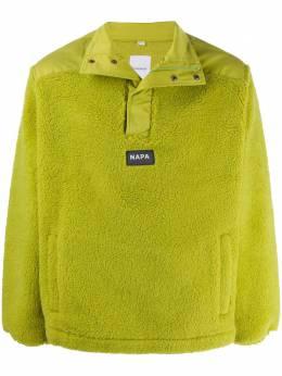 Napa By Martine Rose флисовая куртка с надписью NP0A4ED4GAR1