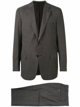 Brioni костюм-двойка узкого кроя RA001JP9A3G
