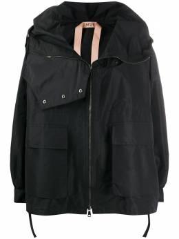 No. 21 high neck oversized jacket 20EN2M0O0515844