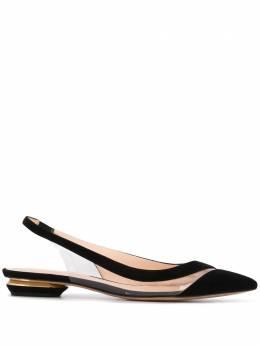 Nicholas Kirkwood туфли Alyssa с ремешком на пятке 901A29SLS1