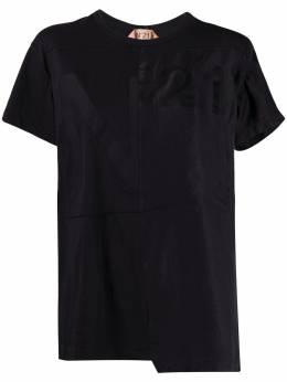 No. 21 футболка асимметричного кроя 20EN2S0F0414157