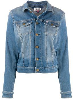 Tommy Jeans джинсовая куртка с эффектом потертости DW0DW08153
