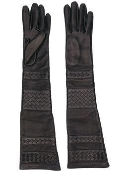 Manokhi длинные перчатки AW20MANO211A330LONGBRAIDEDGLOVES