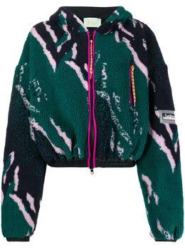 Aries флисовая куртка с принтом SQAR70004