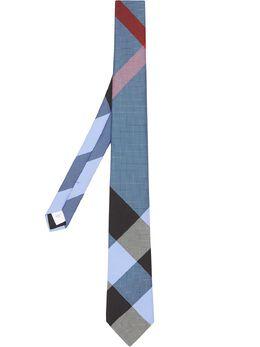 Burberry галстук в клетку 8030095