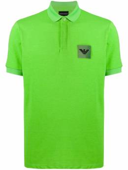 Emporio Armani logo patch polo shirt 3H1F851J80Z