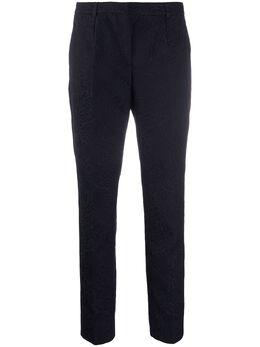 Dolce&Gabbana укороченные жаккардовые брюки FTYNXTFJ6BB