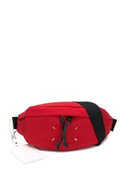 Maison Margiela поясная сумка с декоративной строчкой S55WB0010PR253