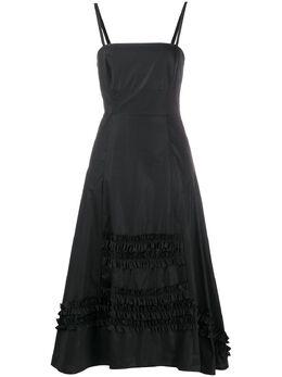 Molly Goddard платье мини А-силуэта с оборками MGSS2029