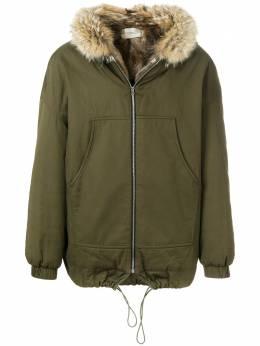 Holland&Holland куртка с капюшоном с мехом MOUT0808Z0L24