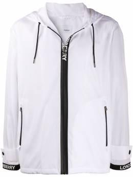 Burberry легкая куртка с логотипом 8027693