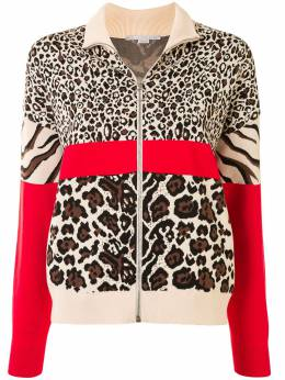 Stella McCartney multi-animal print bomber jacket 600013S2164