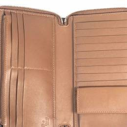 Gucci Brown Microguccissima Leather Travel Wallet 290275