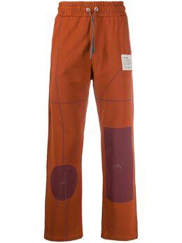 A-Cold-Wall* спортивные брюки с геометричным принтом ACWMF19TRD01