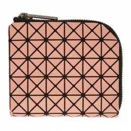 Bao Bao Issey Miyake Pink Clam Wallet BB07AG331