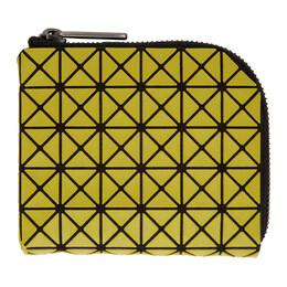 Bao Bao Issey Miyake Green Clam Wallet BB07AG331