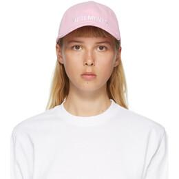 Vetements Pink Logo Cap UAH21CA932