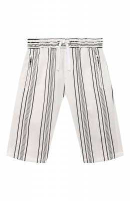 Хлопковые шорты Dolce&Gabbana L42Q47/FSFKN/8-14