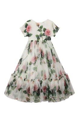 Шелковое платье Dolce&Gabbana L52DC3/IS1BD/8-14