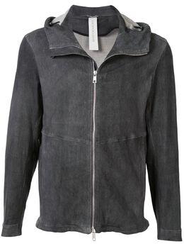 Giorgio Brato куртка с эффектом потертости GU20S9005OLDV