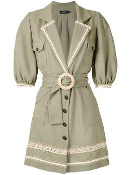 Patbo платье миди с вышивкой и поясом V20PATVES2158C