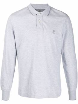 Brunello Cucinelli long-sleeved polo shirt M0T739769G