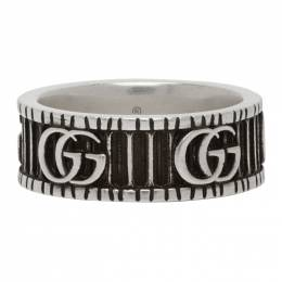 Gucci Silver Double G Ring 551899 J8400