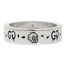 Gucci Silver G Ghost Ring 477339 J8400