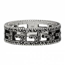 Gucci Silver Square G Ring 576993 J8400