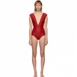Haight Red Roge One-Piece Swimsuit 01020092