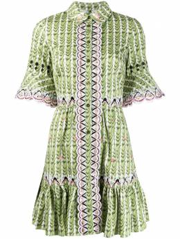 Temperley London платье-рубашка Poet с вышивкой 20UPTO53731