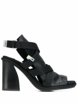 Premiata strappy leather sandals M5737PREMNEROSACNE