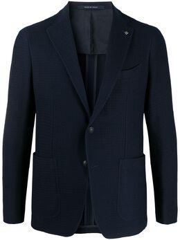 Tagliatore фактурный однобортный пиджак 1SMJ22K57UEJ165