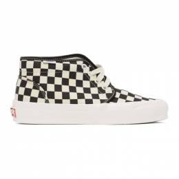 Vans Black and White Check OG Chukka LX High-Top Sneakers VN0A4U3GXC8