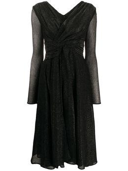 Talbot Runhof платье со сборками COLSON2CK15