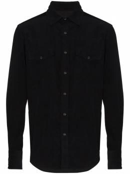 Tom Ford джинсовая рубашка в стиле вестерн 94MEKI8FT877