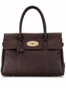 Mulberry сумка-тоут с поворотным замком и клапаном HH5215346K195