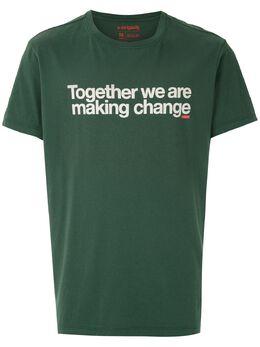 Osklen футболка с надписью 60919