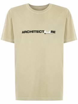Osklen футболка с логотипом 60940