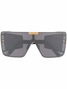 Balmain солнцезащитные очки Wonder Boy в массивной оправе UBPS102