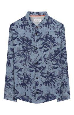 Льняная рубашка Brunello Cucinelli BW616C330A